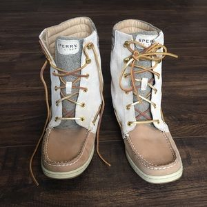 Sperry (NBW) Lace Up Boots